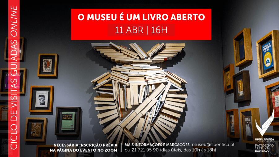 Visita guiada online 'O Museu é um Livro Aberto'