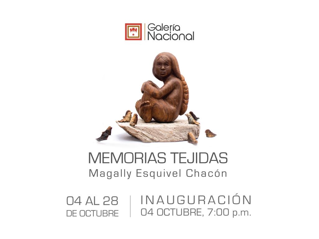 Memorias tejidas. Magally Esquivel. Escultura