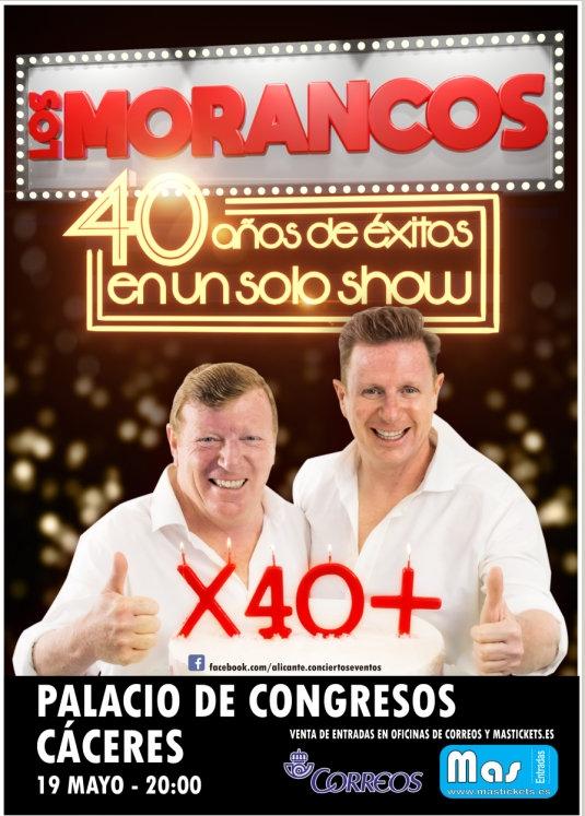 LOS MORANCOS     40 años de éxitos en un solo show