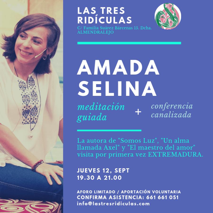 Meditación Guiada Y Conferencia Canalizada con AMADA Selina.