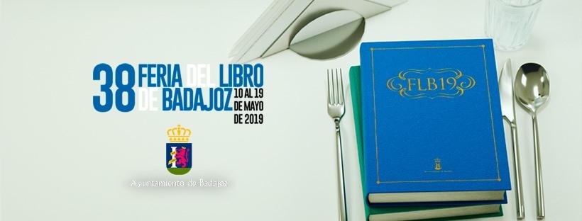 Programación de la 38º Feria del Libro de Badajoz 2019