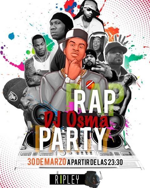 RAP DJ OSMA PARTY