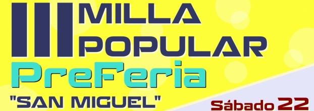 III MILLA POPULAR 'PreFeria 2018'