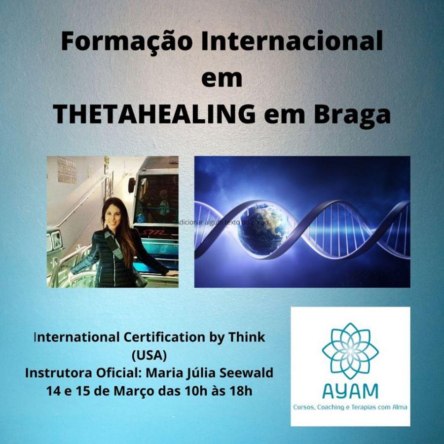 Formação de Thetahealing em Braga