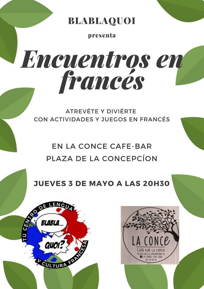 Encuentros en francés con BlablaQuoi