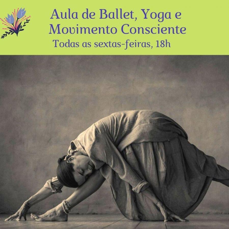 Aulas de Dança, Ballet e Yoga