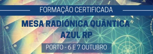 Mesa Radiónica Quântica Azul RP - Formação Certificada - PORTO