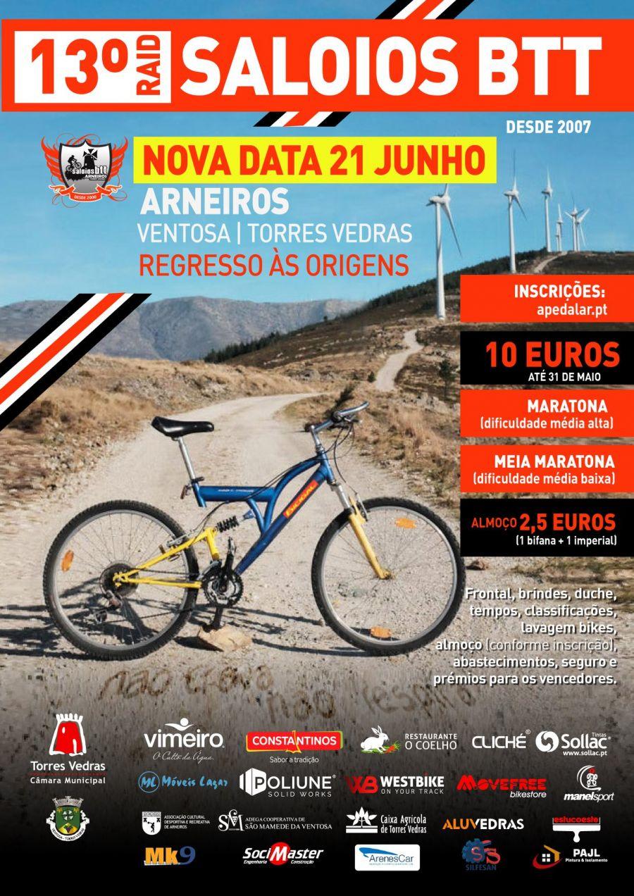13º RAID SALOIOS BTT, Torres Vedras, Arneiros