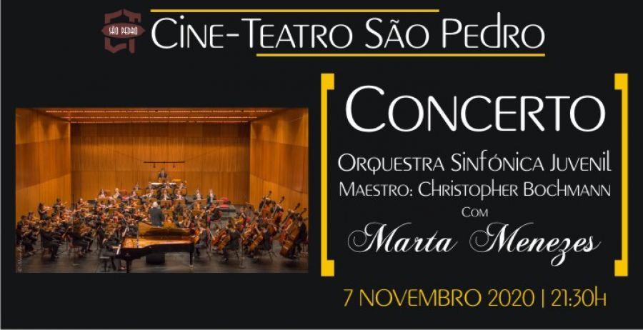 Concerto Orquestra Sinfónica Juvenil com Marta Menezes