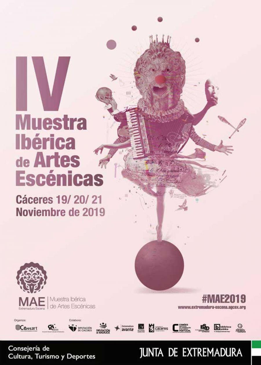 IV Muestra Ibérica de Artes Escénicas. MAE 2019