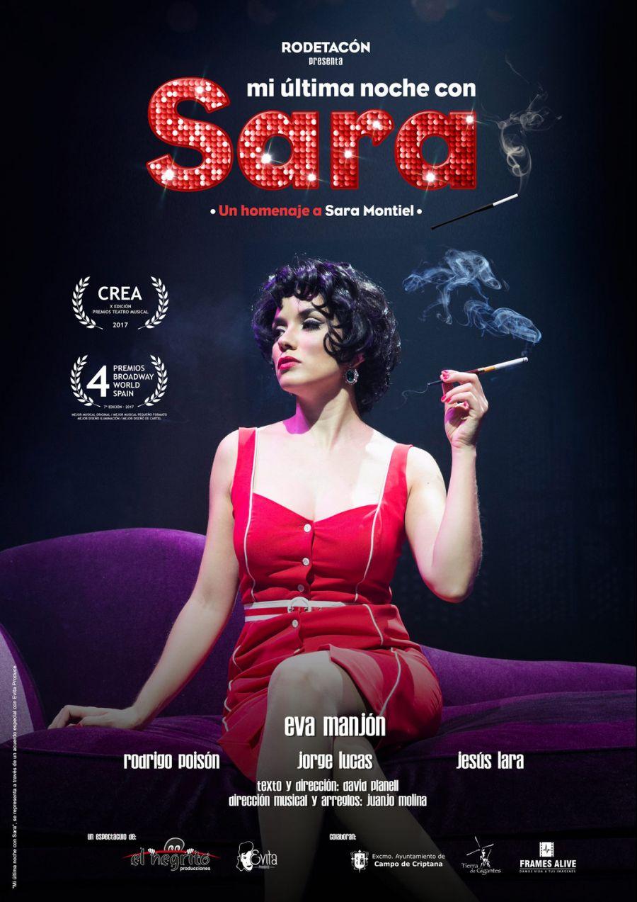 Mi última noche con Sara. Rodetacón Teatro.
