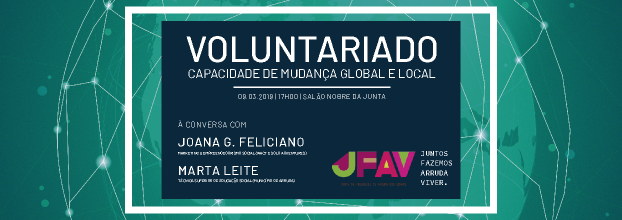 Voluntariado - Capacidade de Mudança Global e Local