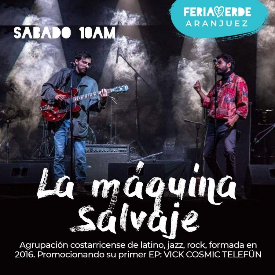 Música latina. La Máquina Salvaje. Jazz y rock