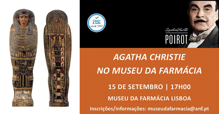 "Visita Temática ""Agatha Christie no Museu da Farmácia"""
