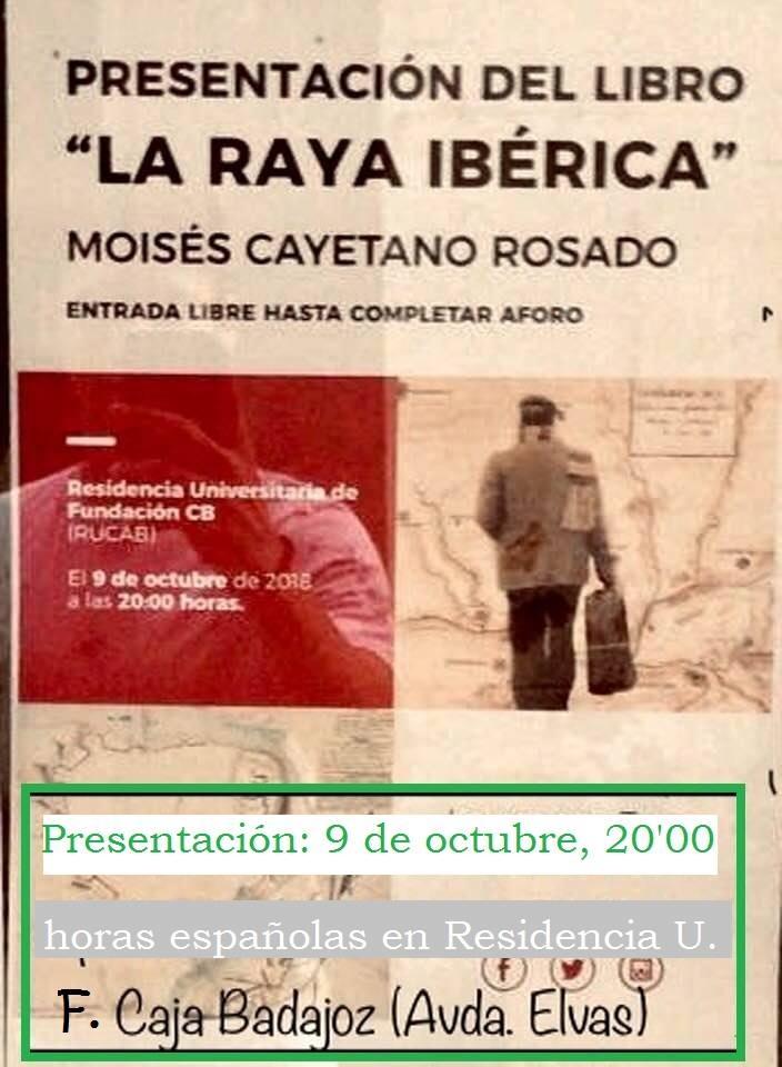 La Raya Ibérica || presentación del libro