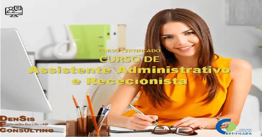 Curso Assistente Administrativo e Rececionista