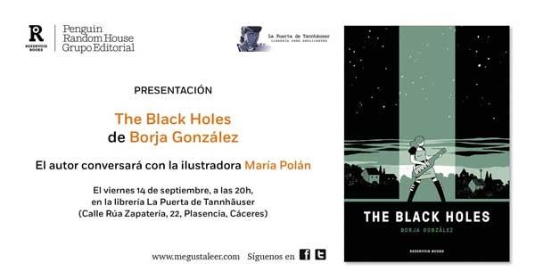 Presentación 'The Black Holes'