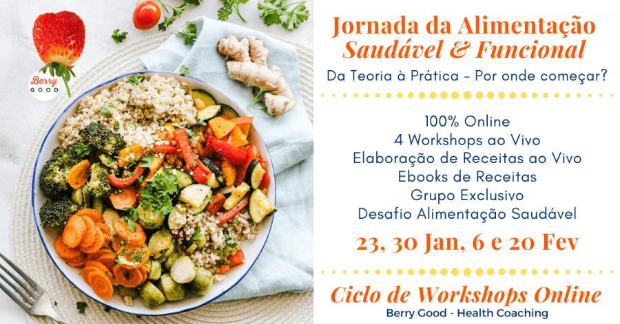 Ciclo de Workshops ONLINE: Jornada da Alimentação Saudável e Funcional
