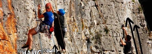 Workshop iniciação à escalada - Rock Climbing taster session