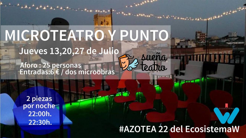 Microteatro en la Azotea: 'Asistiré' y 'Sin pelos en la lengua'