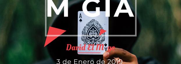 APLAZADO: Tarde de Magia con David El Mago
