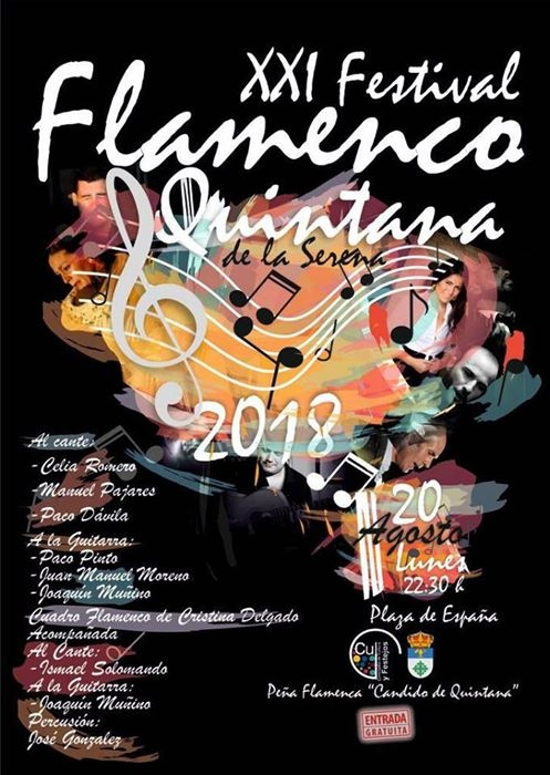 XXI Festival Flamenco || Quintana de la Serena