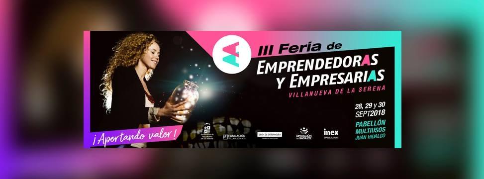 III Feria de Emprendedoras y Empresarias