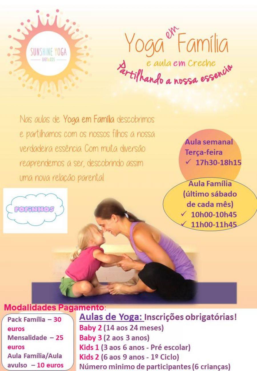 Aulas de Yoga semanal ou mensal