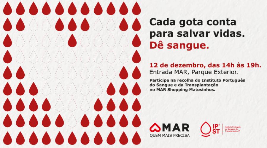 Instituto do Sangue, MAR Shopping Matosinhos e O Boticário sugerem o presente ideal para este Natal: Doe Sangue, Salve Vidas!