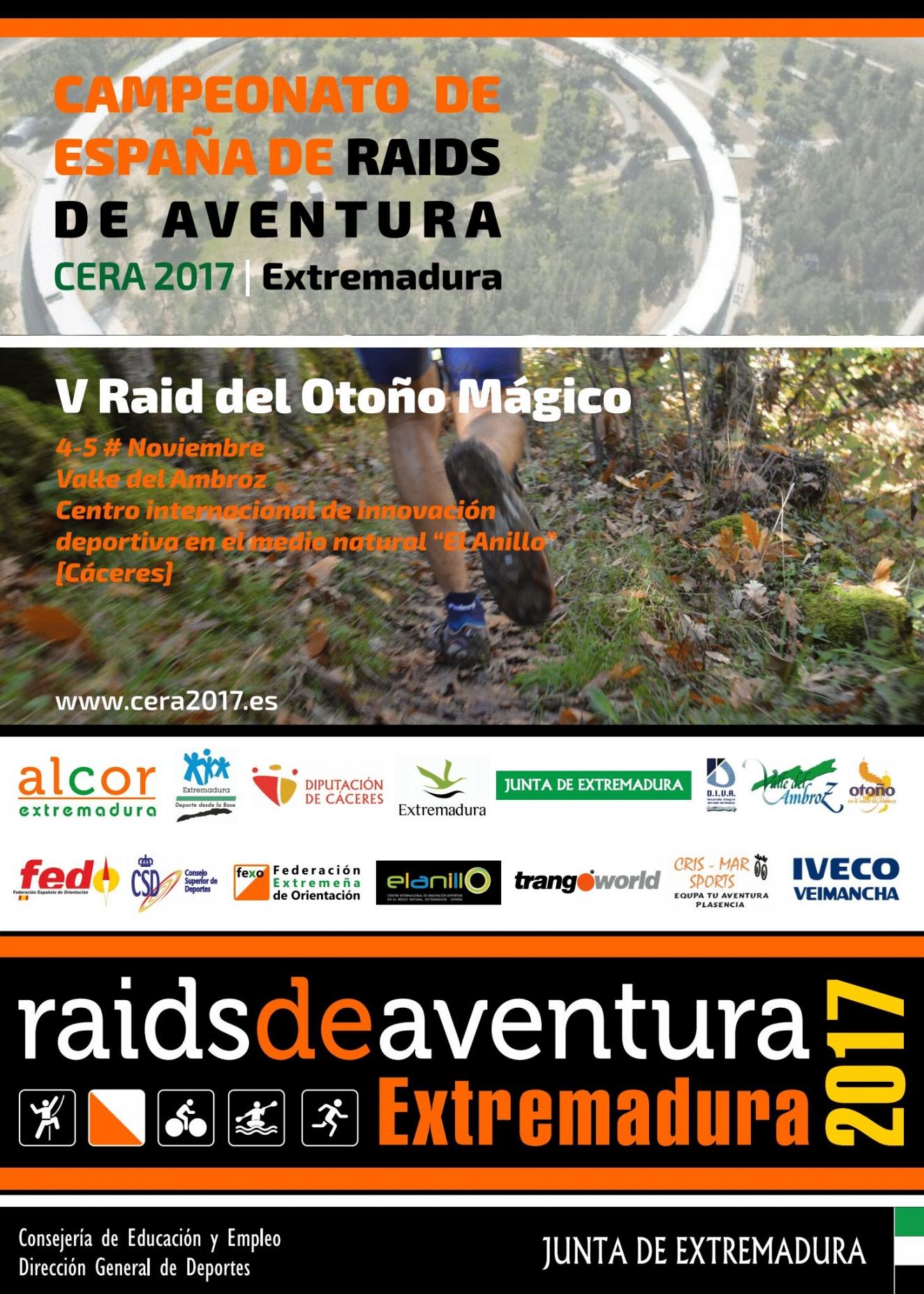 V RAID DE AVENTURA VALLE DEL AMBROZ // CAMPEONATO DE ESPAÑA