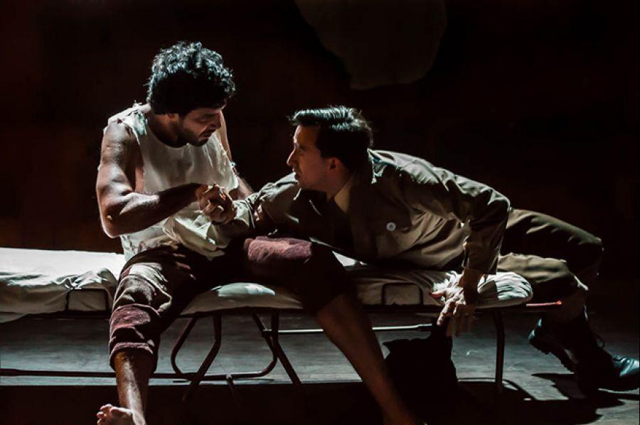 12 Encuentro Nacional de Teatro. La Piedra Oscura. Compañía independiente LPO