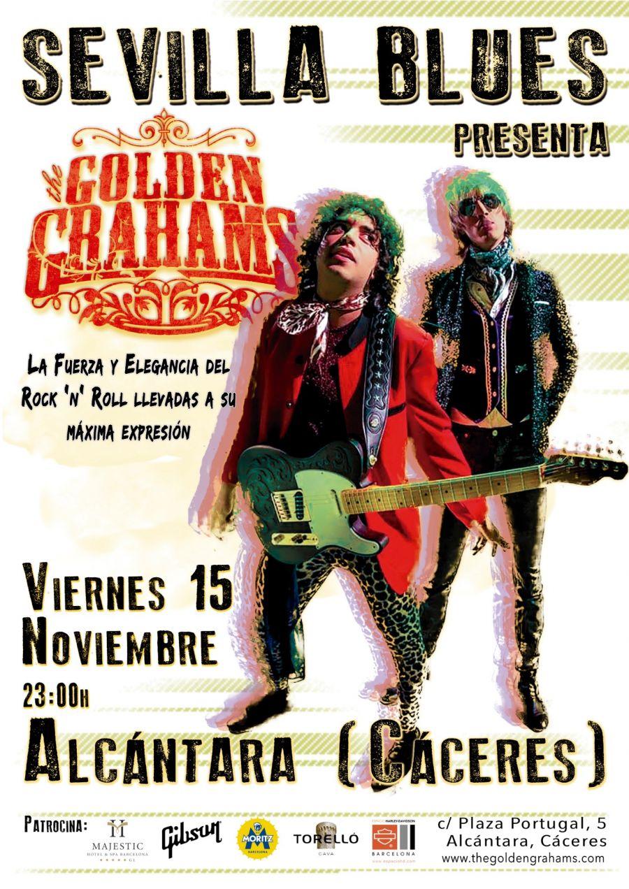 THE GOLDEN GRAHAMS EN ALCÁNTARA