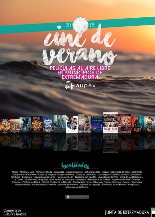 CINE DE VERANO || Películas al aire libre en municipios de Extremadura