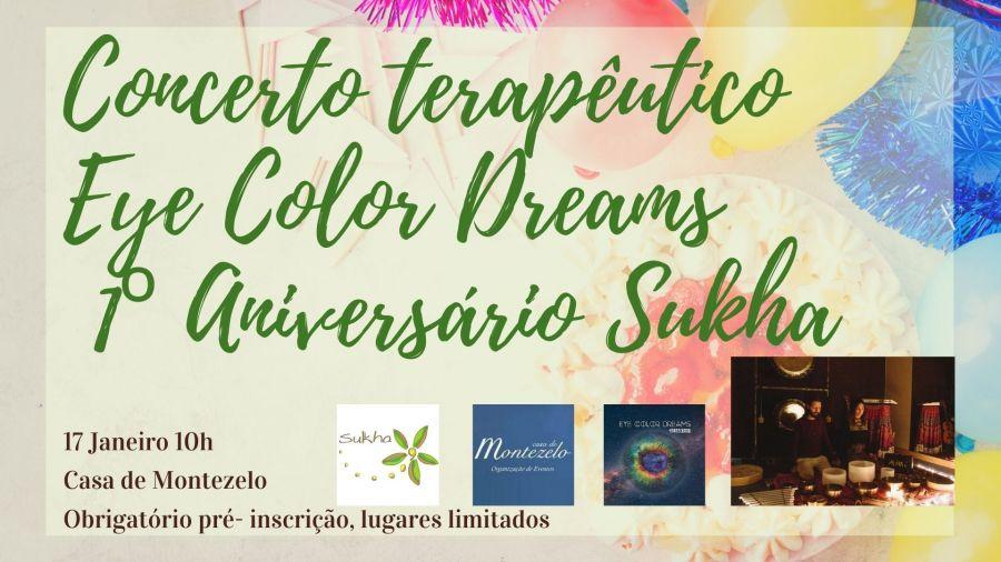 Concerto Terapêutico Eye Color Dreams