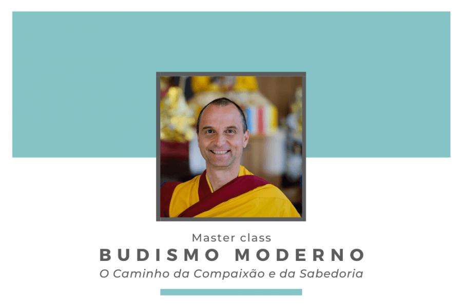 Master class com o monge Gen Rigden 'Budismo Moderno'