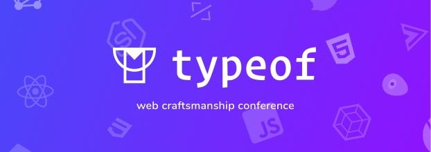 typeof conference — web craftsmanship conference & workshops