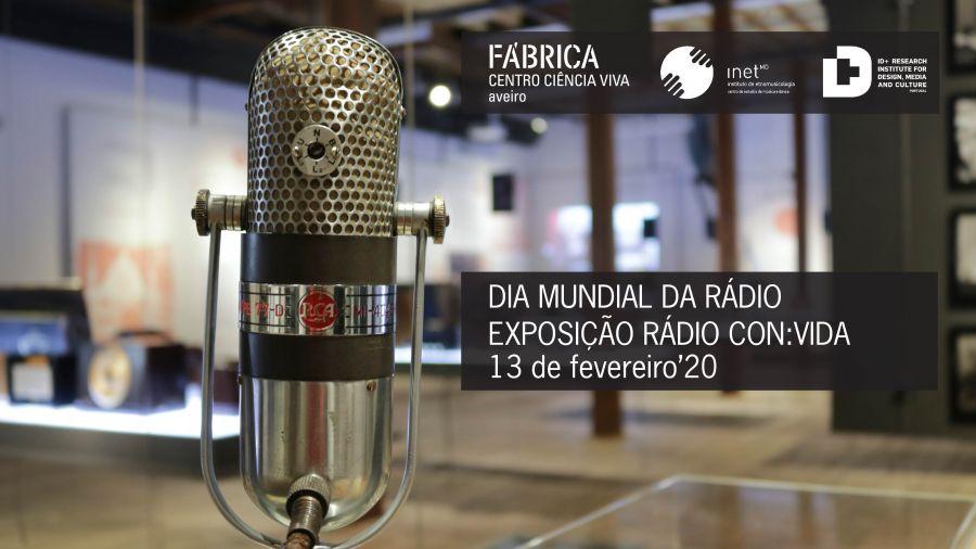 Exposição 'Rádio con:vida'