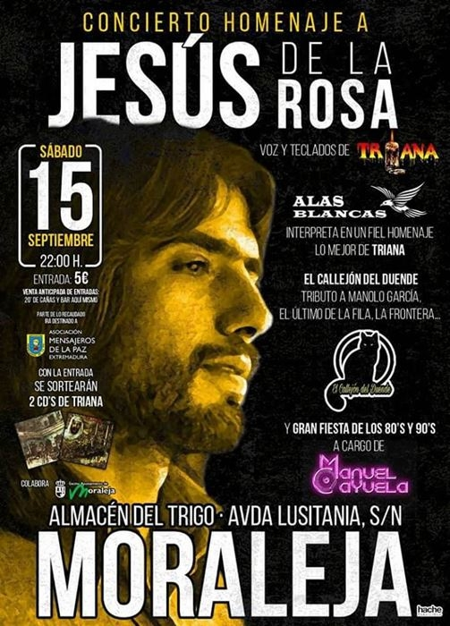 Concierto homenaje a Jesus de la Rosa