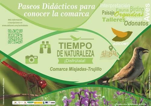 Tiempo de Naturaleza en la Comarca Miajadas-Trujillo