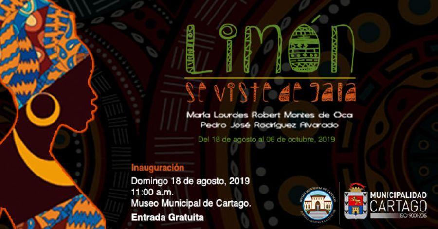 Limón se viste de gala. María Lourdes Robert & Pedro José Rodríguez