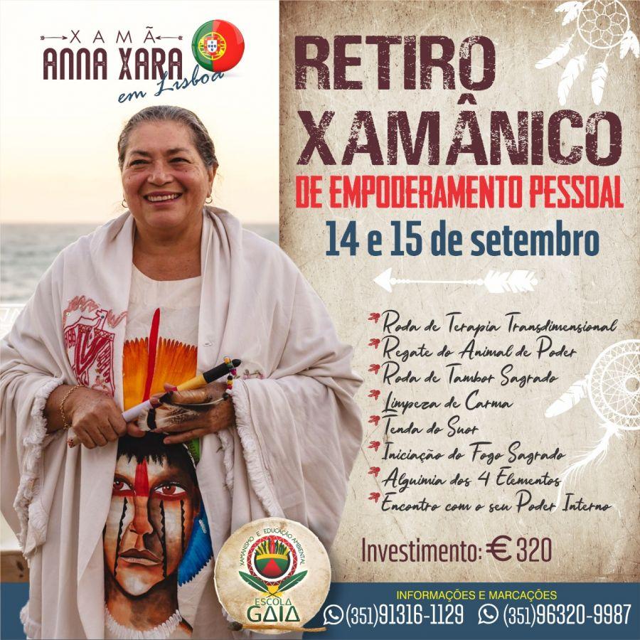 RETIRO XAMÂNICO DE EMPODERAMENTO PESSOAL