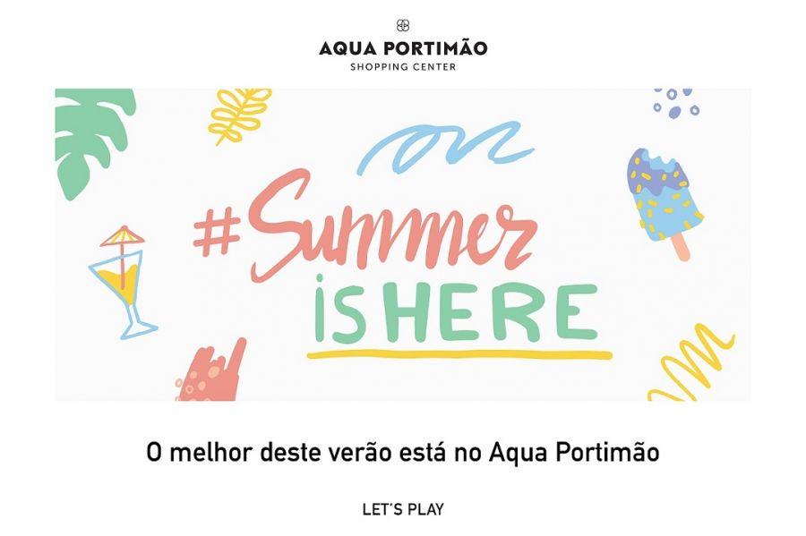#SUMMERISHERE REGRESSA AO AQUA PORTIMÃO PARA ANIMAR OS DIAS DE VERÃO