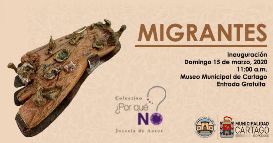 Migrantes. Colectivo ¿Por Qué No?. Joyería de autor