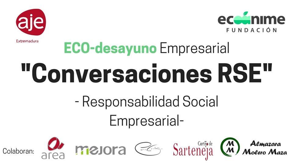ECO-Desayuno Empresarial y Conversaciones de Responsabilidad Social Empresarial