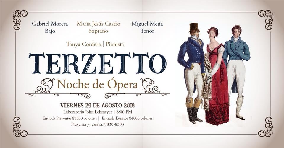 Terzetto. Noche de ópera