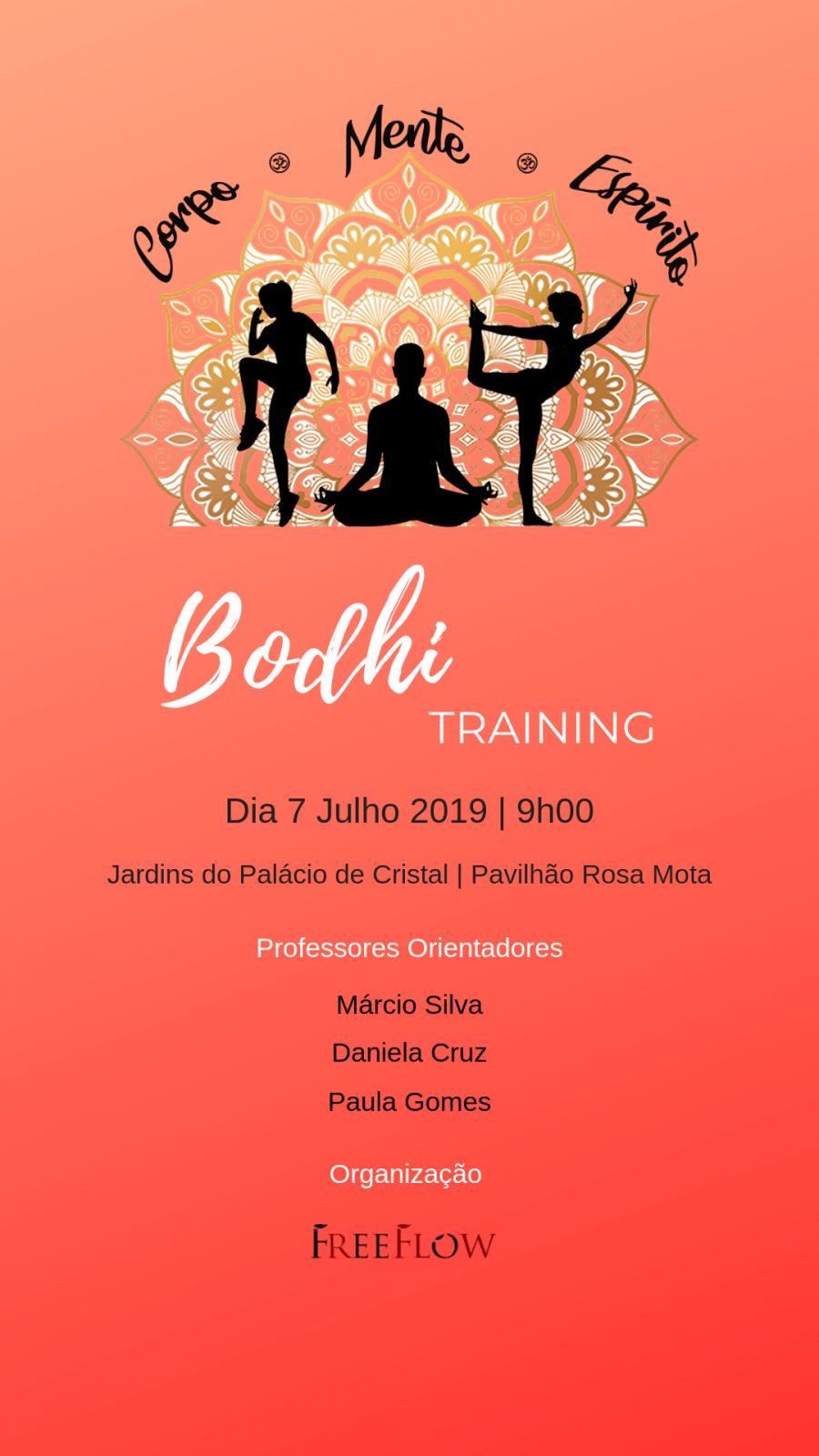 Bodhi Training - Corpo|Mente|Espírito
