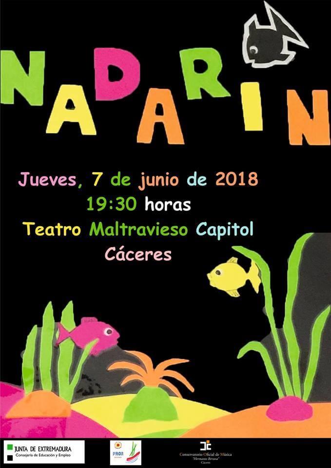 Nadarín [Teatro Negro] - PROA Cáceres
