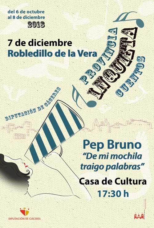 Provincia inquieta | CUENTACUENTOS: Pep Bruno