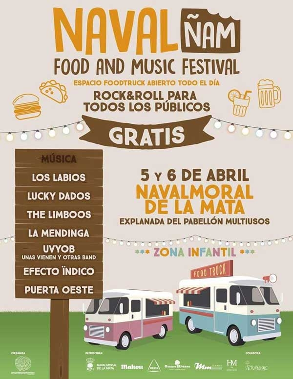 NAVALñam, Food and Music Festival // 2018