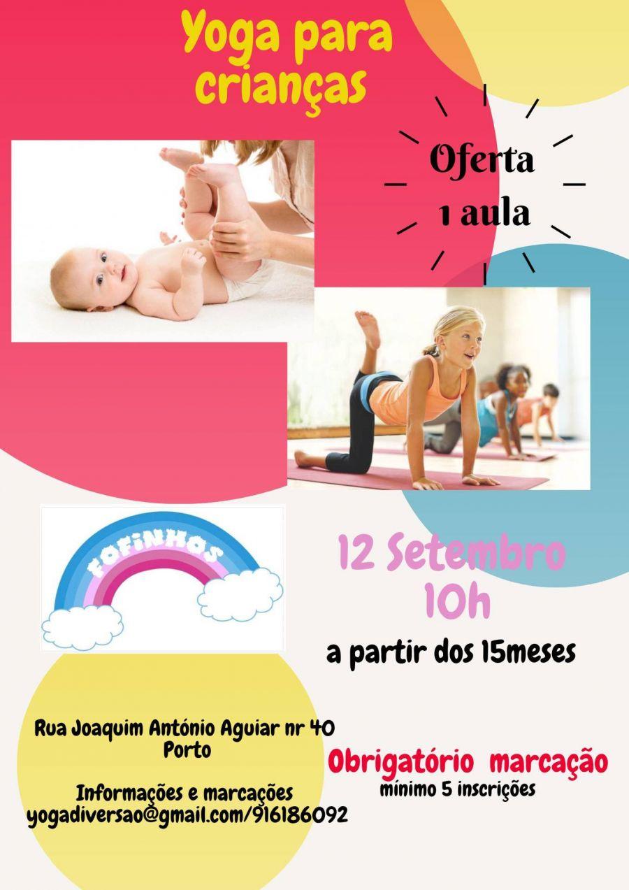 Yoga para bebés/crianças